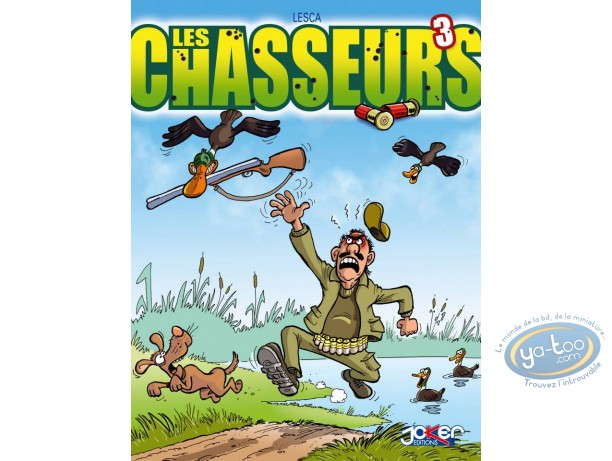 Reduced price European comic books, Chasseurs (Les) : Les chasseurs