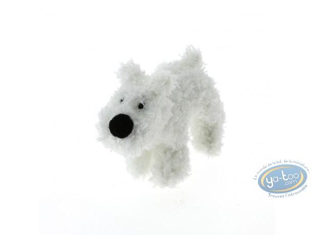 Plush, Tintin : Snowy - 8cm