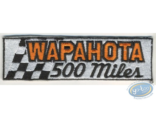 Clothes, Joe Bar Team : Embroidered badge, Joe Bar Team : Wapahota