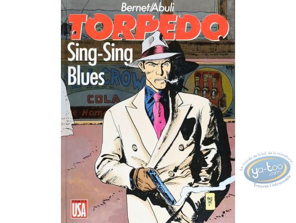 Listed European Comic Books, Torpédo : Sing-Sing blues (good condition)