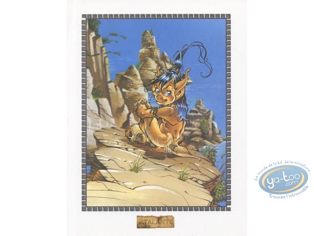 Bookplate Offset, Atalante : Pyros