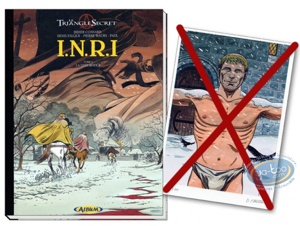Reduced price European comic books, Triangle Secret (Le) : INRI (slightly damaged / incomplete)