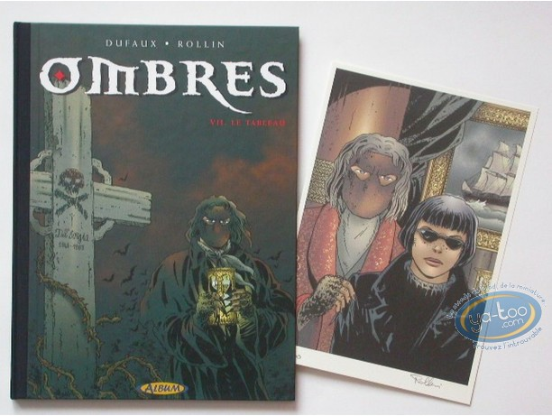 Reduced price European comic books, Ombres : Le tableau (slightly damaged)