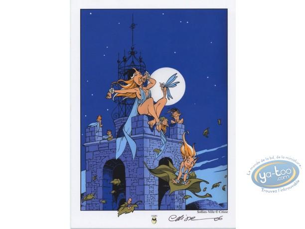 Bookplate Offset, Fairies