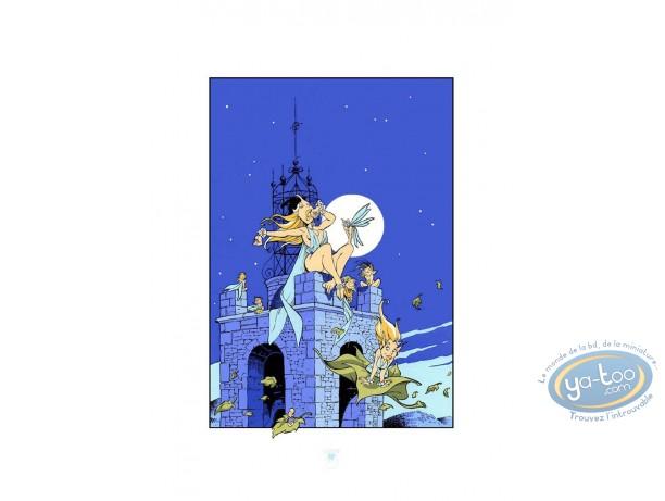Serigraph Print, Fairies