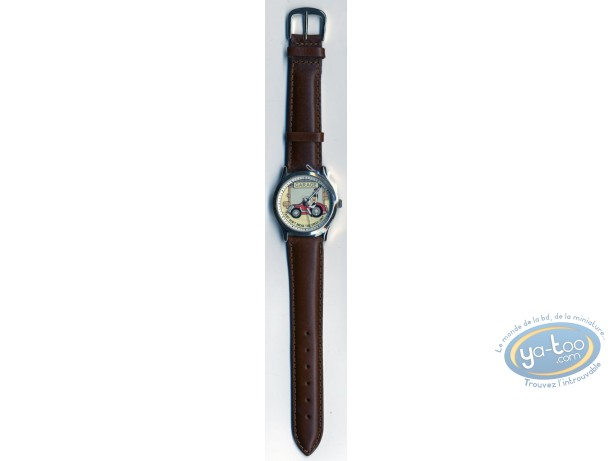 Clocks & Watches, Droopy : Watch Tex Avery Droopy leather strap