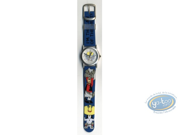 Clocks & Watches, Droopy : Watch Tex Avery Droopy plastic strap