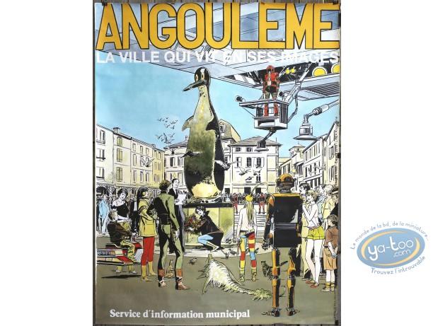 Offset Print, Survivante (La) : Gillon : Angouleme la ville qui vit en ses images