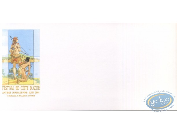 Bookplate Offset, Plume aux Vents : Ariane & Beau in Antibes (glossy)