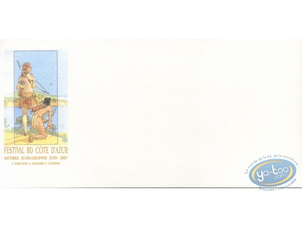 Bookplate Offset, Plume aux Vents : Ariane & Beau in Antibes (mat)