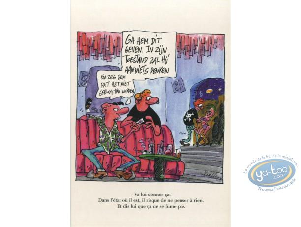 Post Card, Prévention Sida, Modèle 3 (en Néerlandais)
