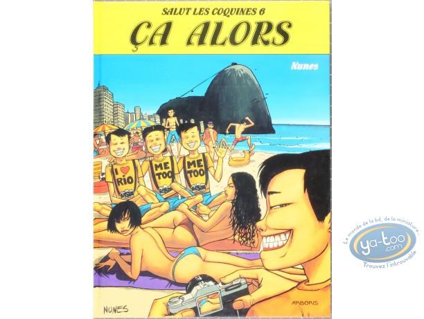 Adult European Comic Books, Salut les coquines : Ca alors - Salut les coquines