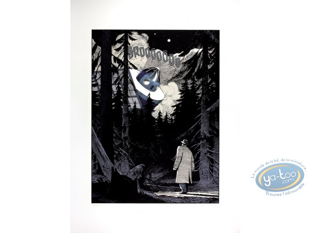 Serigraph Print, Cités Obscures (Les) : The Banked Child Triptych (very good condition)