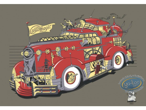 Serigraph Print, Customobile