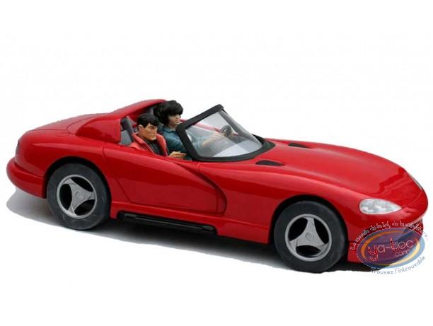 European comic strip vehicle, XIII : XIII & Jones Convertible Dodge Viper n°XIII