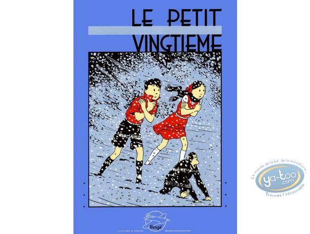 Serigraph Print, Jo et Zette : The Snow