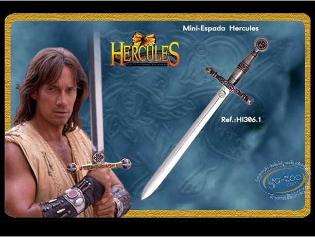 Metal Figurine, Hercules : mini sword silver version