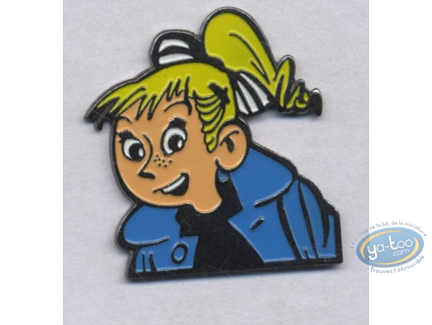 Pin's, Spirou and Fantasio : Pin's, Séccotine
