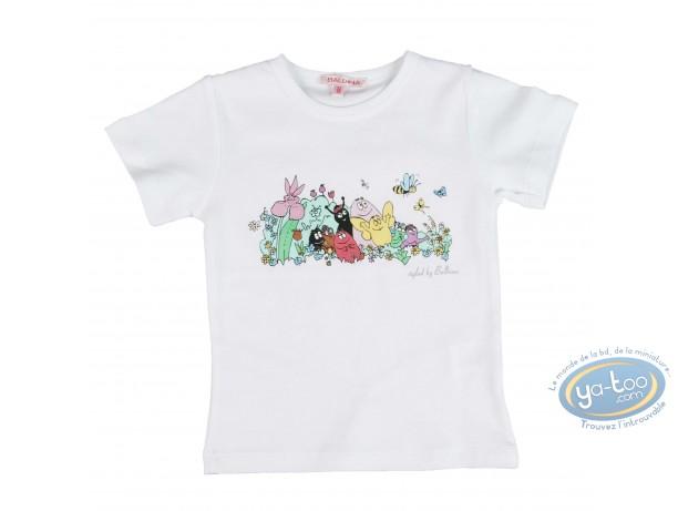 Clothes, Barbapapa : T-shirt short sleeve white Barbapapa for kid : size 152/158, family
