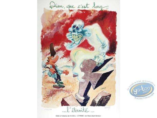 Offset Print, Pierre Tombal : Dieu que c'est long...