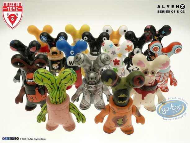 PVC Statuette, Alyen Z : Series 01