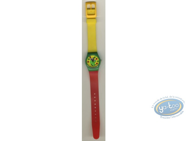 Clocks & Watches, Babar : Watch Babar plastic strap (small size)