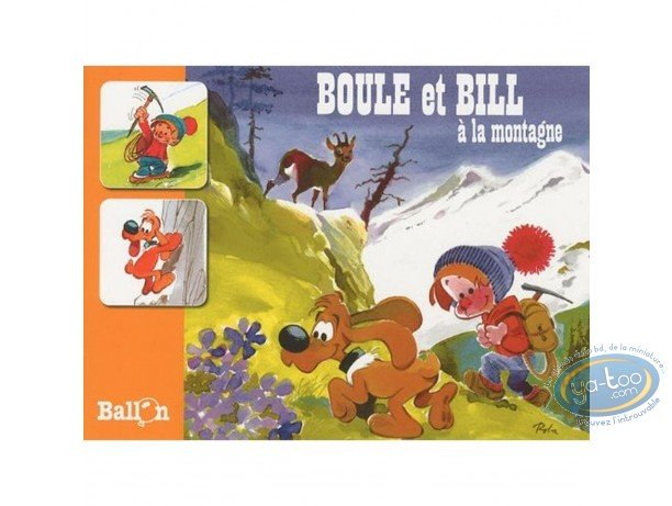 European Comic Books, Billy and Buddy : Billy and Buddy at the mountains