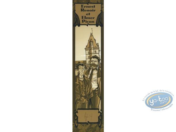 Bookplate Offset, Ombre de l'Echafaud (L') : Ernest Renoir & Elmer Picon