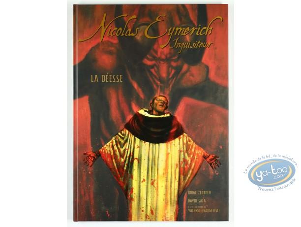 Limited First Edition, Nicolas Eymerich : La Deesse (dedication)