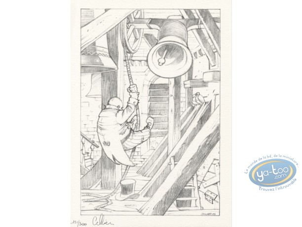 Bookplate Offset, Maître du Hasard (Le) : The bell