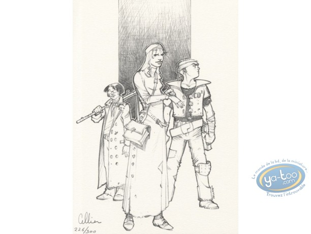 Bookplate Offset, Maître du Hasard (Le) : Trio