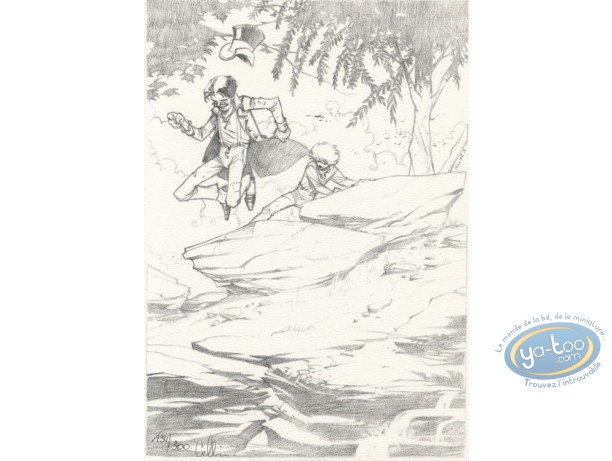 Bookplate Offset, Maître du Hasard (Le) : The race