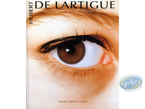 Reduced price European comic books, Catalogue d'Exposition : Peintures 2003-2004 (eye cover)
