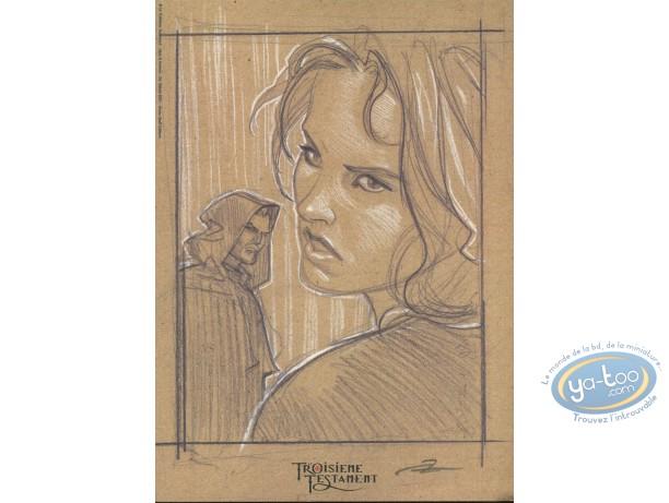 Bookplate Offset, 3ème Testament (Le) : Heroes Sketch