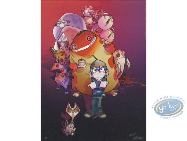 Offset Print, Monster Allergy : family portrait