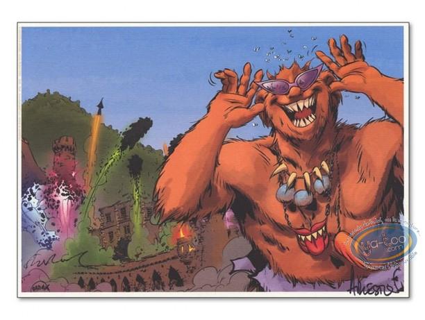 Bookplate Offset, Trolls de Troy : Fireworks (ABD)