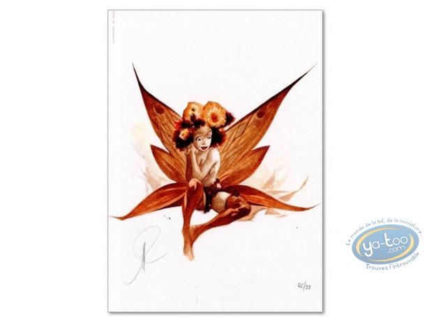 Bookplate Offset, Féerie : Flowers Fairy
