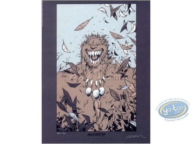 Offset Print, Trolls de Troy : Troll laughing (exclusive)