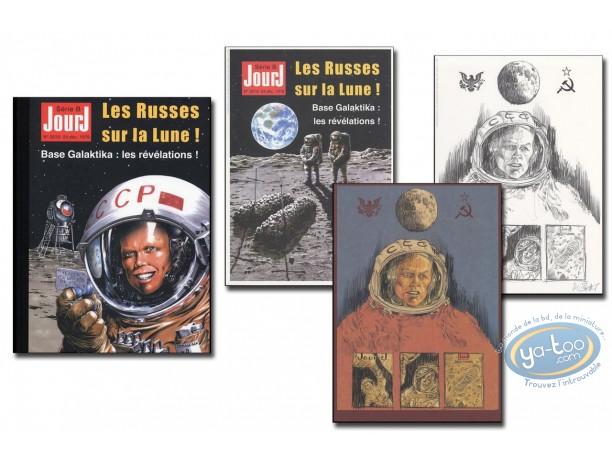 Deluxe Edition, Jour J : Les russes sur la lune - complete edition