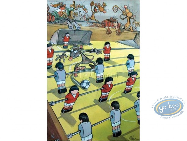 Offset Print, Pacush Blues - Les rats : Mondial Soccer