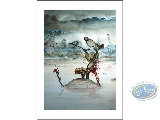 Offset Print, Pacush Blues - Les rats : The Fisherman