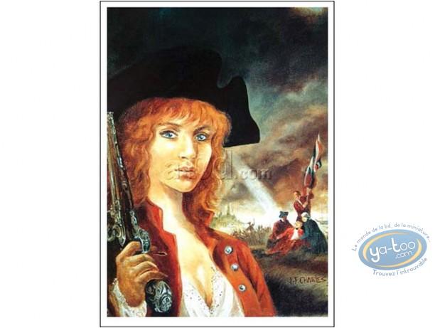 Offset Print, Pionniers du Nouveau Monde (Les) : Woman with a gun