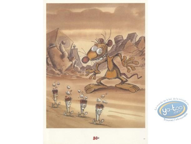 Bookplate Offset, Pacush Blues - Les rats : Dream for Rat