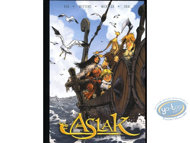 Reduced price European comic books, Aslak : L'oeil du Monde (blue)