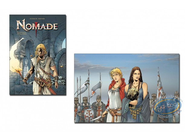 Limited First Edition, Nomade : Gauthier de Flandres (dedication)