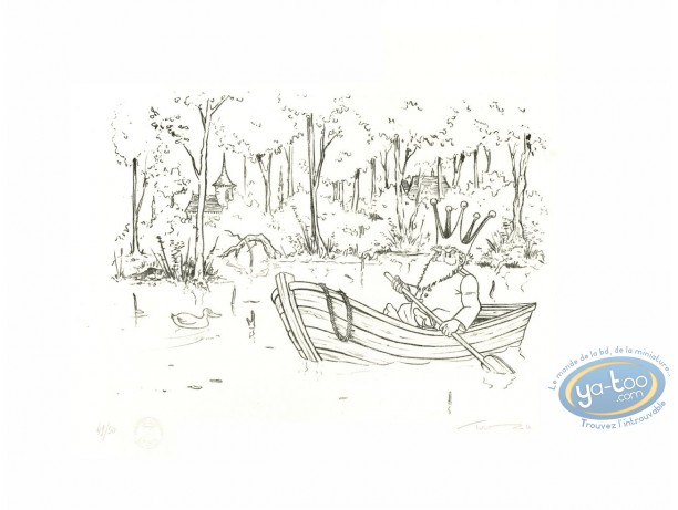 Lithography, Nef des Fous (La) : Boat