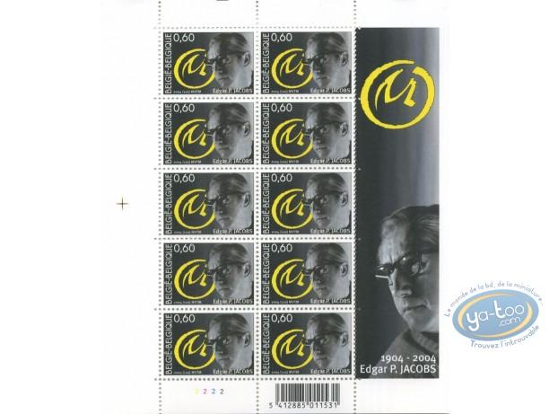 Stamp, Blake and Mortimer : 10 stamps sheet