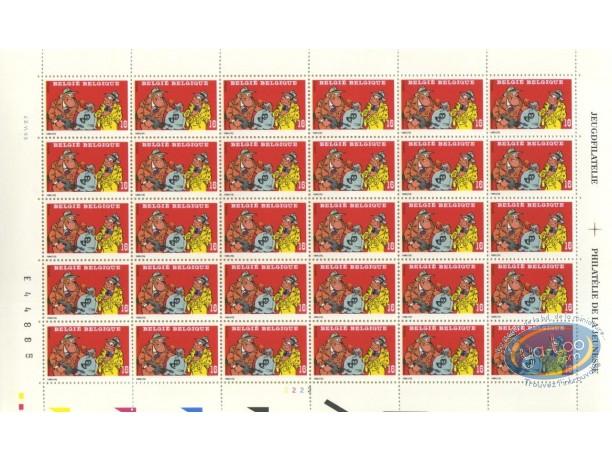 Stamp, Sammy : 30 stamps sheet