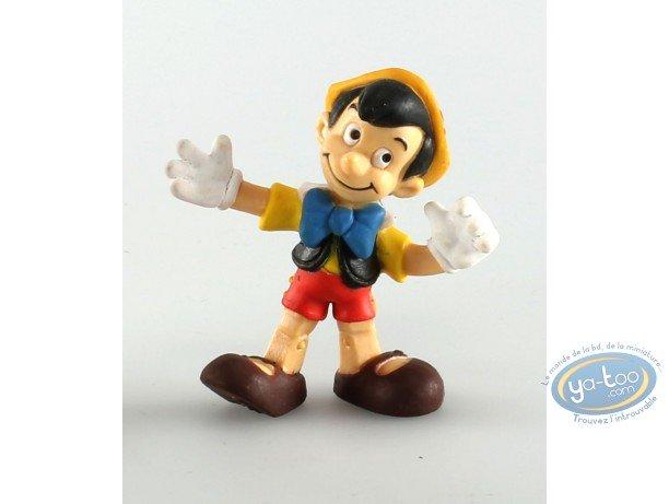 Plastic Figurine, Pinocchio : Pinocchio, Disney