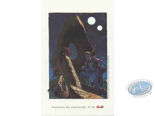 Bookplate Offset, Quête de l'Oiseau du Temps (La) : Lizards